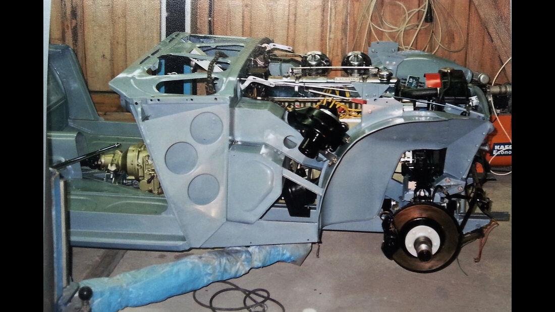 Austin-Healey 100/6 BN6, Technik