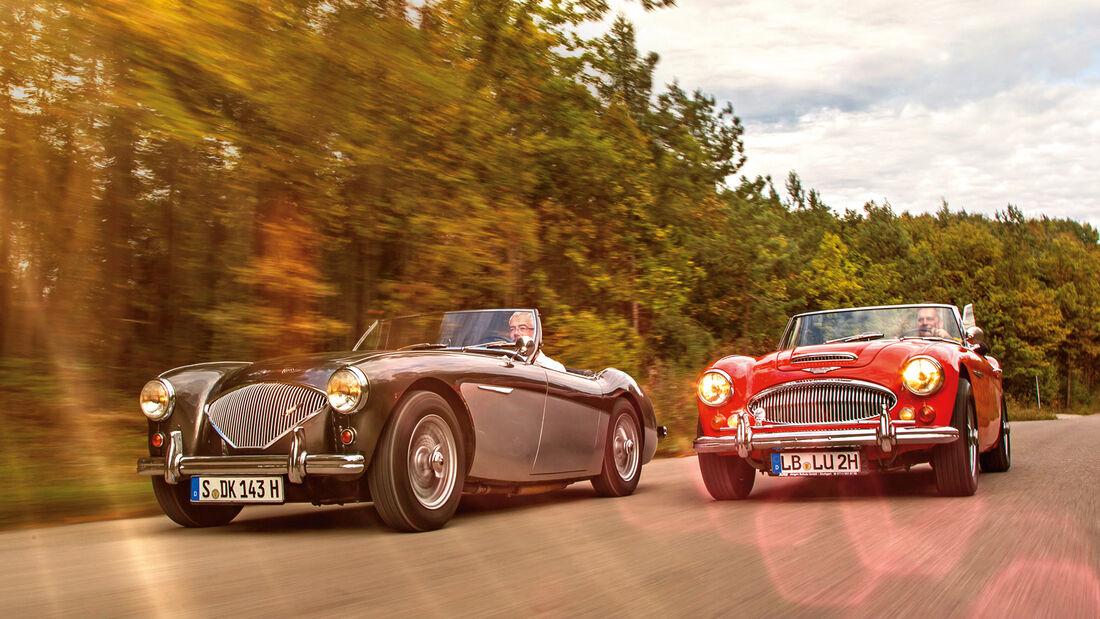 Austin Healey 100, Austin Healey 3000 MK II, Frontansicht