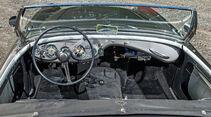 Austin Healey 100, Cockpit