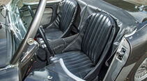 Austin Healey 100, Fahrersitz