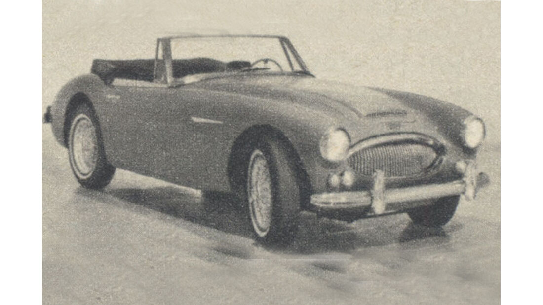 Austin, Healey, 3000, IAA 1967