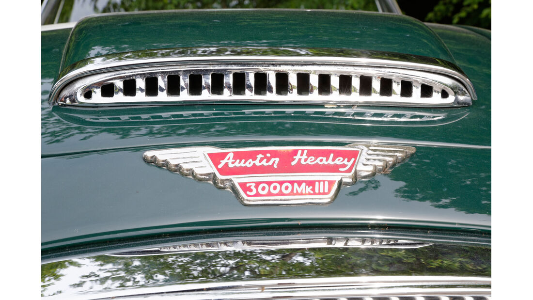 Austin-Healey 3000, Kühlergrill
