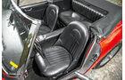 Austin Healey 3000 MK II, Fahrersitz