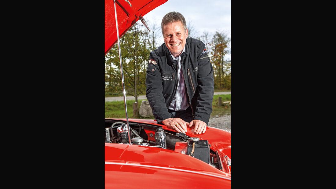 Austin Healey 3000 MK II, Holger Bockenbühl