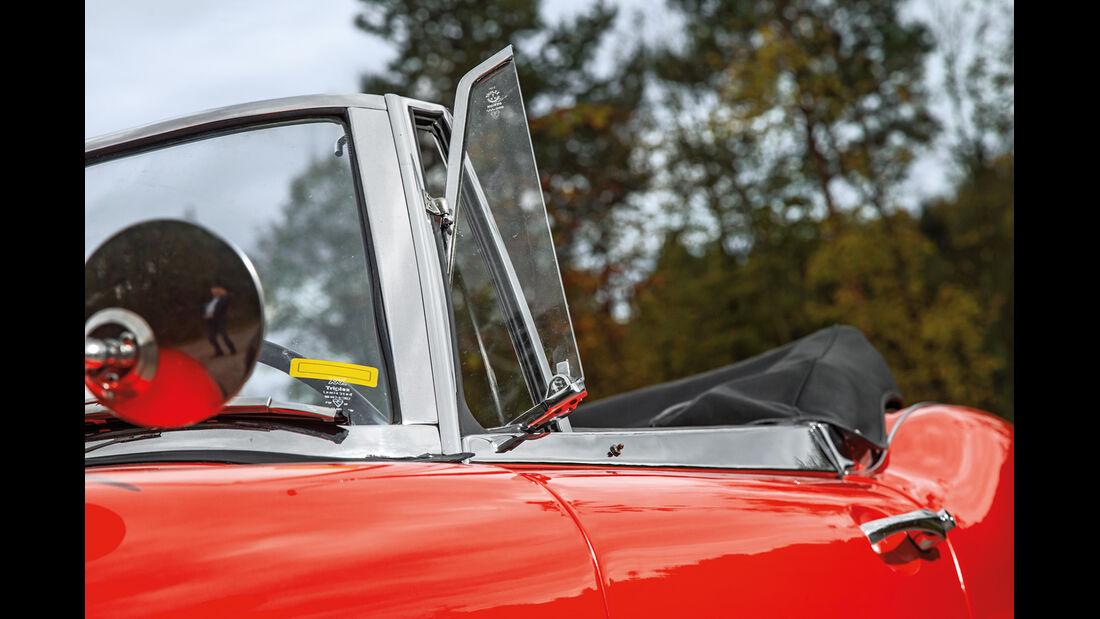 Austin Healey 3000 MK II, Seitenfenster