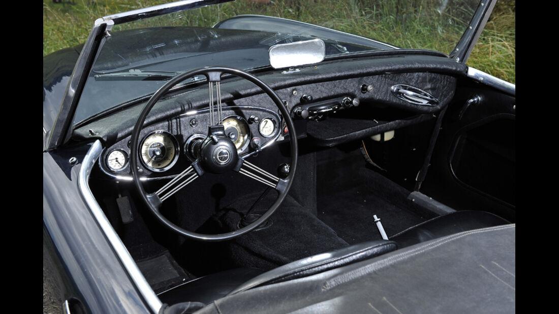 Austin-Healey 3000 MKI, Innenraum
