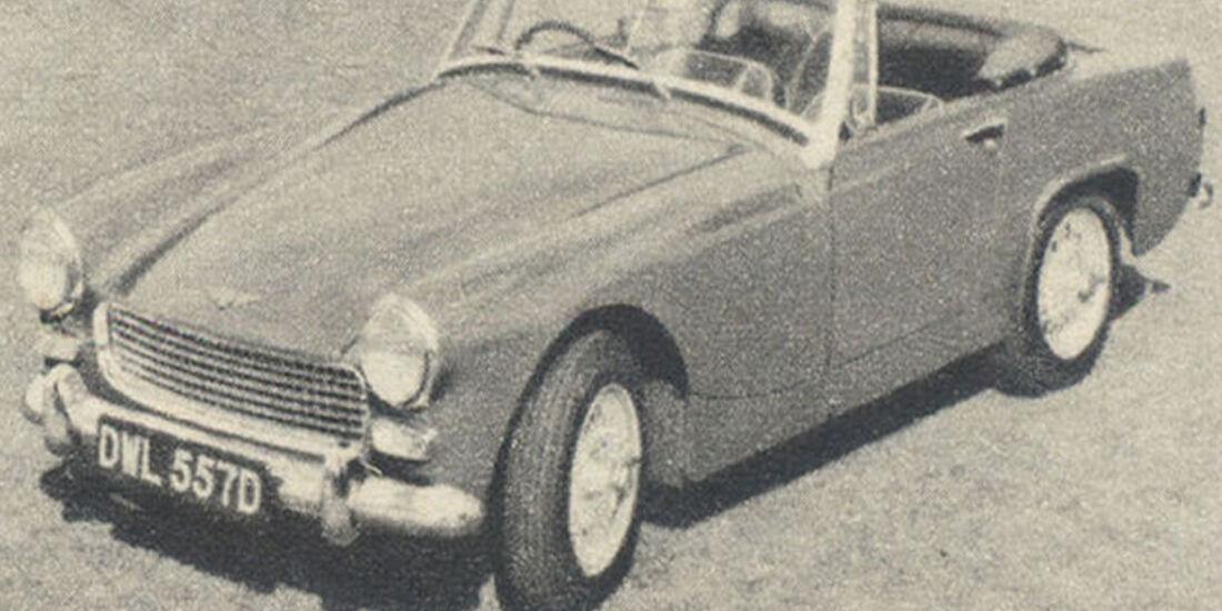 Austin, Healey Sprite Mk IV, IAA 1967