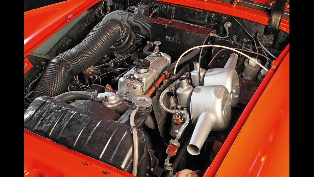 Austin-Healey Sprite, Motor