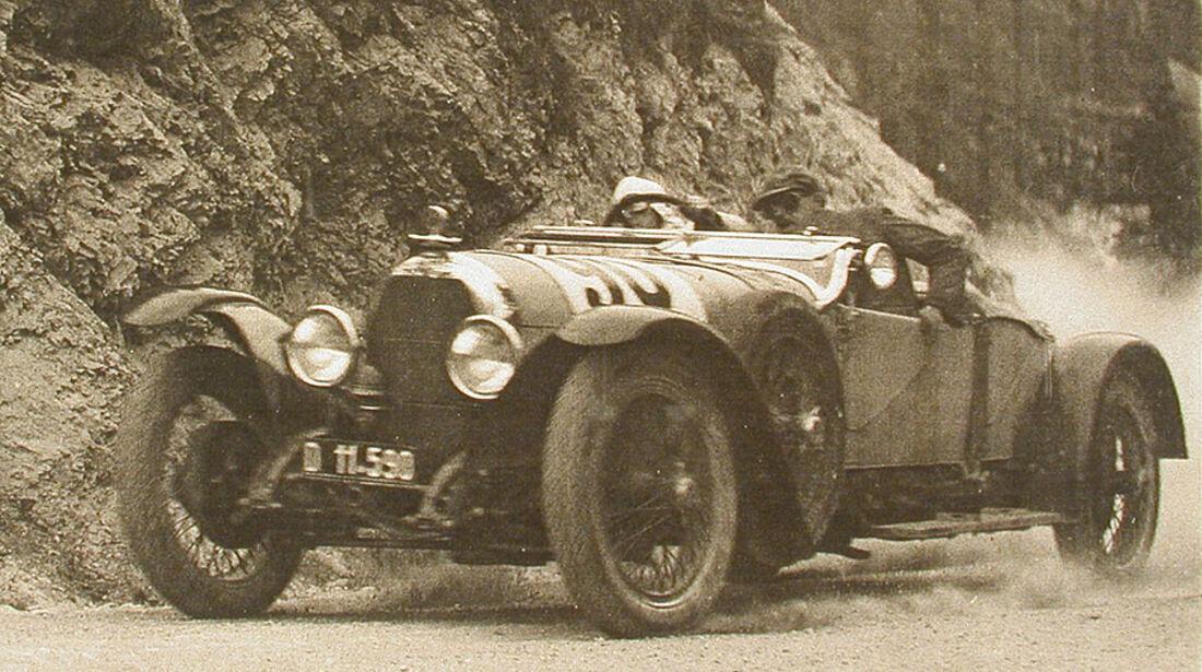 Austro Daimler ADM Sport Zirlerberg rennen 1926