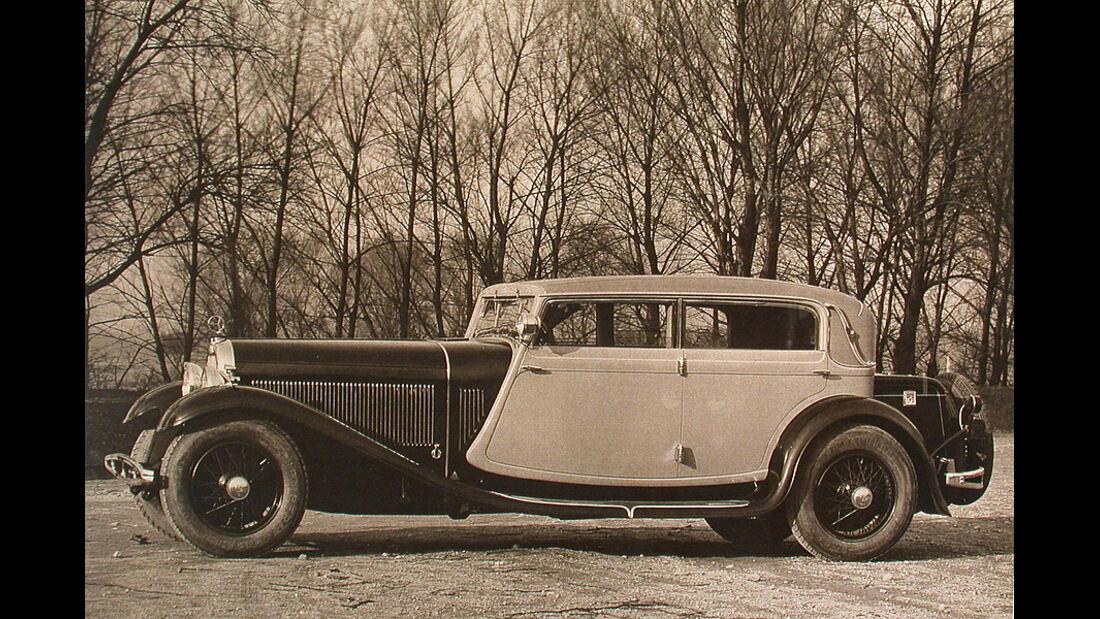 Austro Daimler ADR 8 Cabriolet 4türig