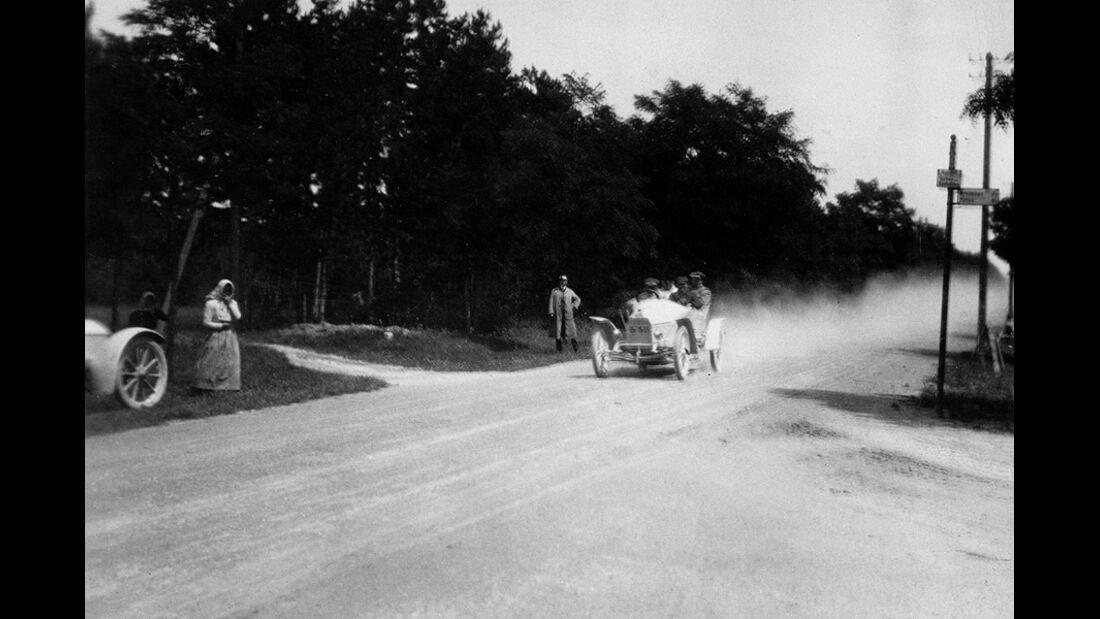 Austro Daimler Prinz Heinrich Wagen 1910 Steuer Wolfgang Porsche