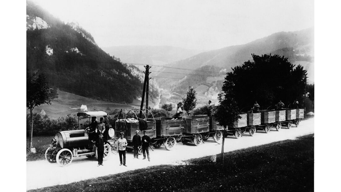 Austro Daimler Train, 1913