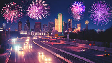 Auto 2021 Feuerwerk