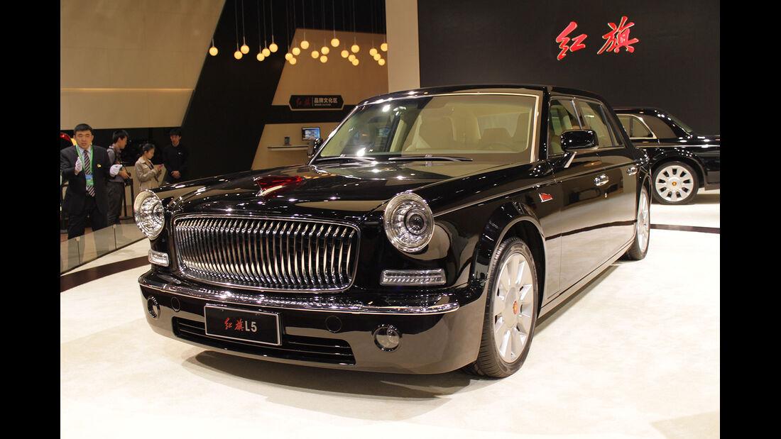 Auto China 2014 Chinesen