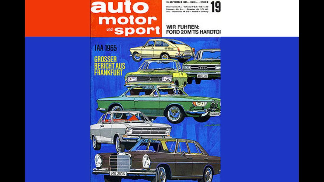 Auto, Motor & Sport, IAA 1965