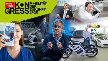 Auto Motor und Sport Kongress 2020 Speaker Aufmacher Collage