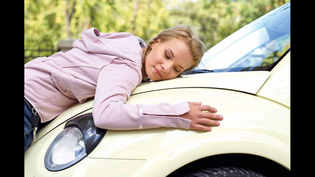 Auto, Motorhaube