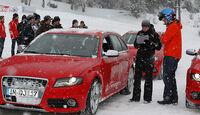 Auto & Ski 2011, Audi S4, Alexandandra Hase, Andy Bovensiepen