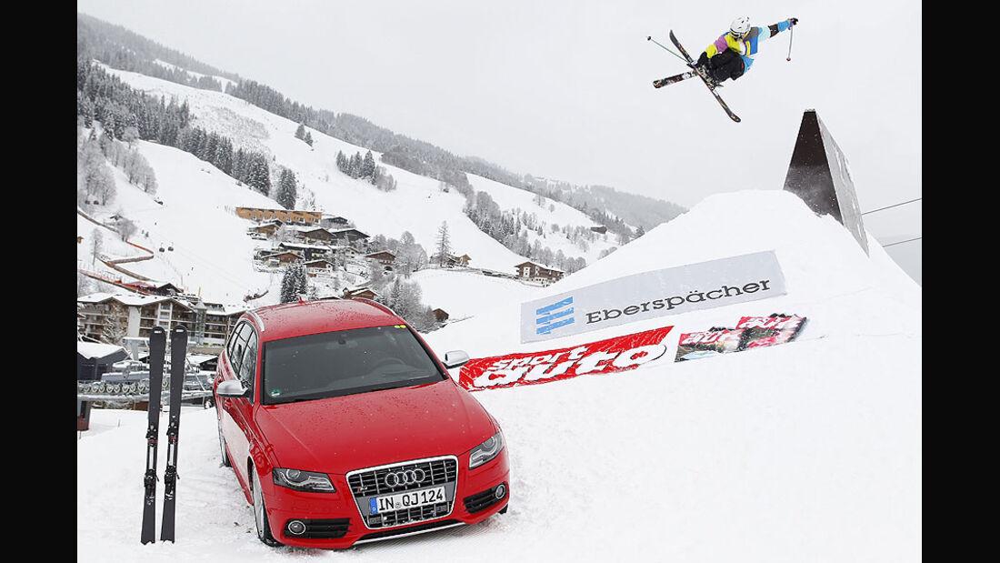Auto & Ski 2011, Audi S4, Front