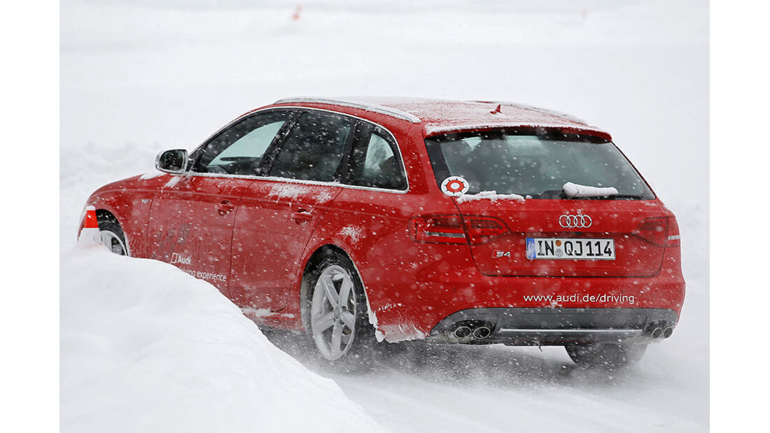 Auto & Ski 2011, Audi S4, Heck