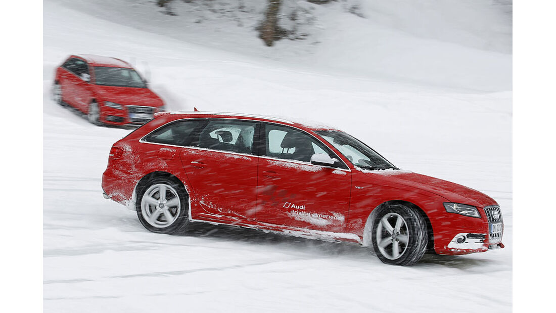 Auto & Ski 2011, Audi S4, Seite