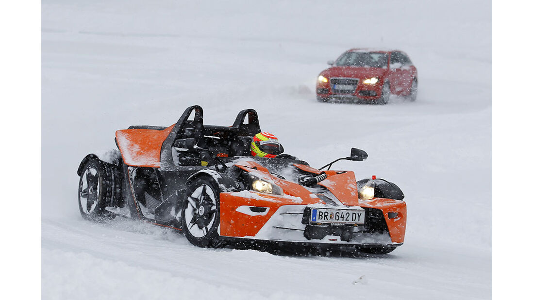 Auto & Ski 2011, KTM X-Bow, Front