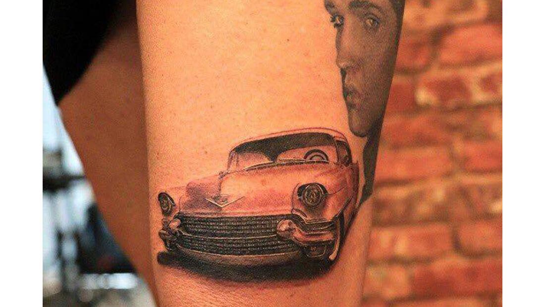 Auto Tattoos Kunstwerke
