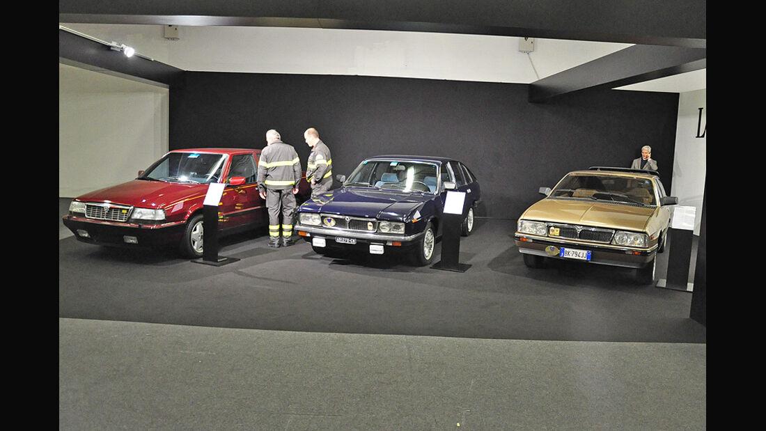 Auto e Motor d'Epoca Padua, 2011, Fiat und Lancia
