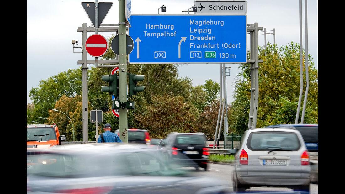 Autobahn A100 Berlin