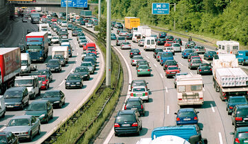 Autobahn, Stau