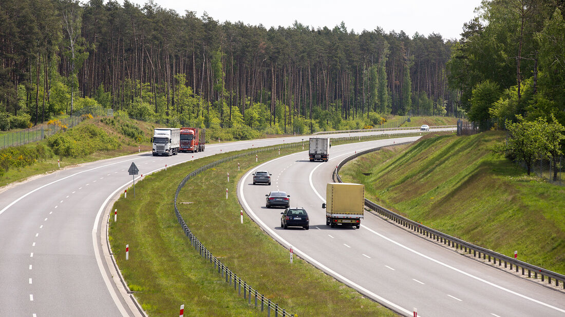 Autobahn in Polen