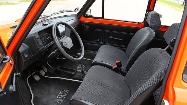 Autobianchi, A112 Junior, (1981), Innenraum, Cockpit