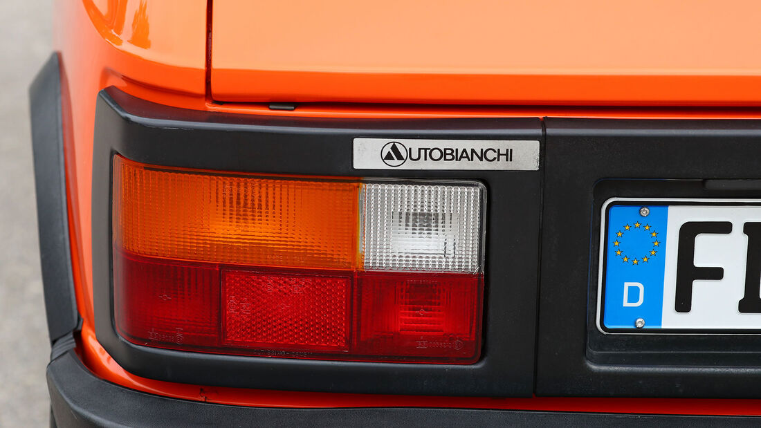 Autobianchi, A112 Junior, (1981), Rücklicht