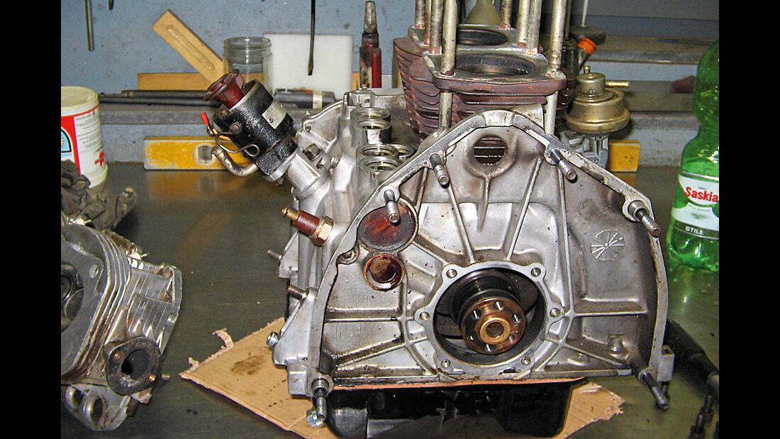 Autobianchi Bianchina Cabrio, Motor, Technik