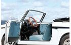 Autobianchi Bianchina Cabrio, Verkleidungen, Sitze