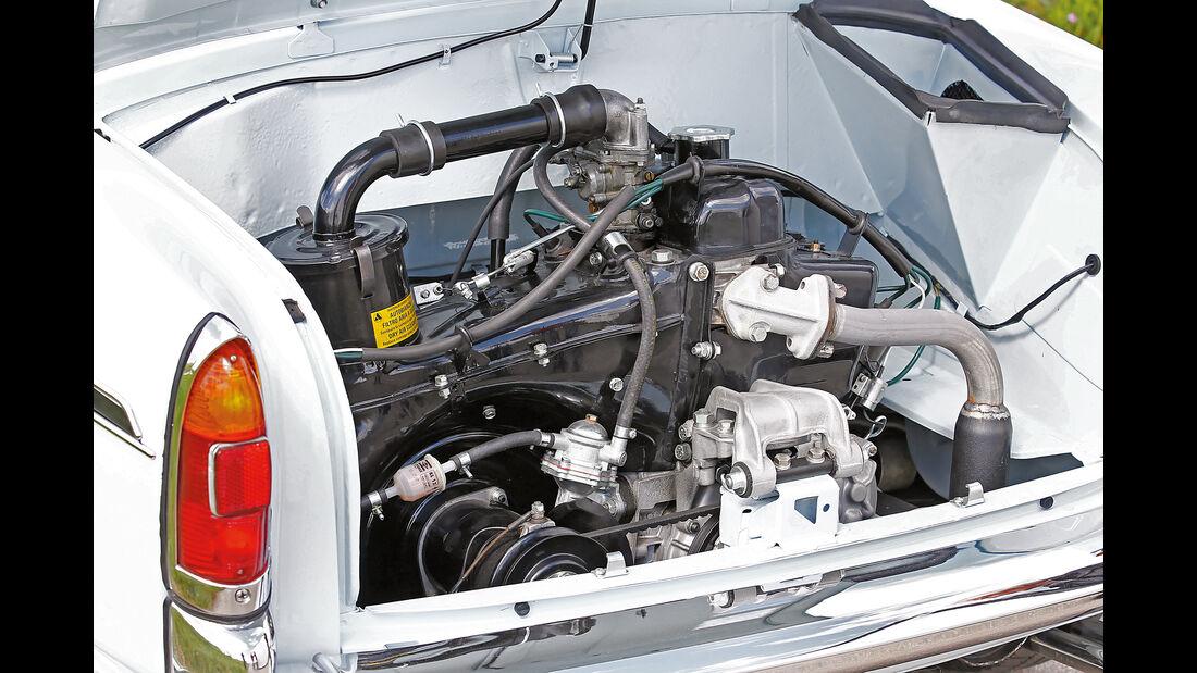 Autobianchi Bianchina Cabrio, Zweizylindermotor