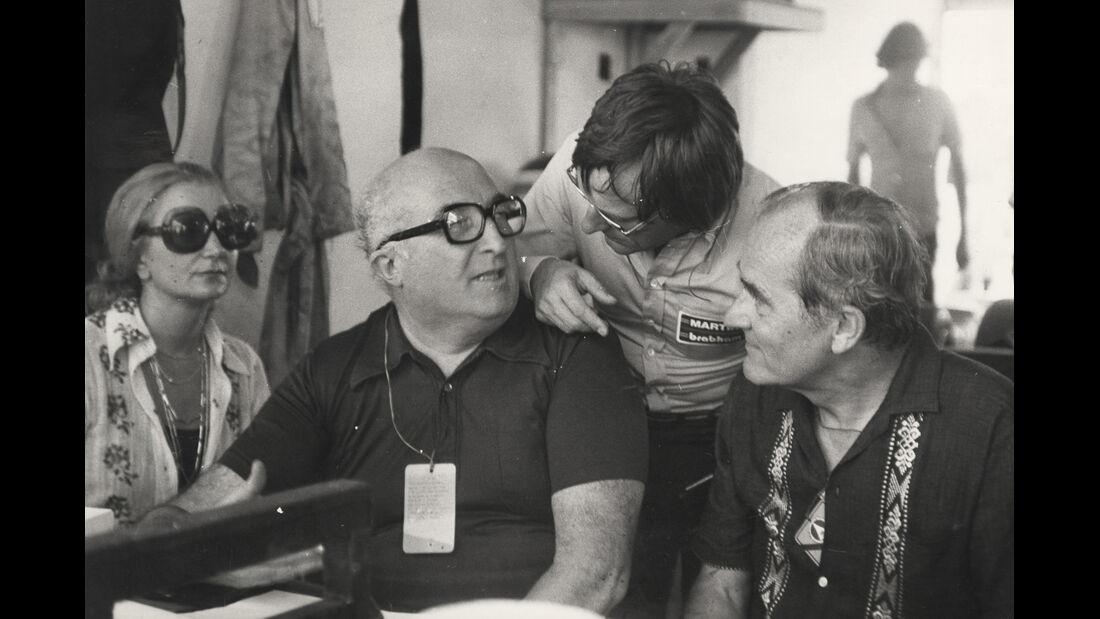 Autodelta-Chef Carlo Chiti, Bernie Ecclestone