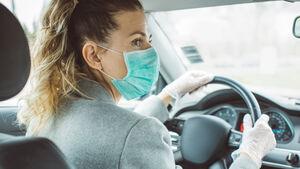 Autofahren mit Maske