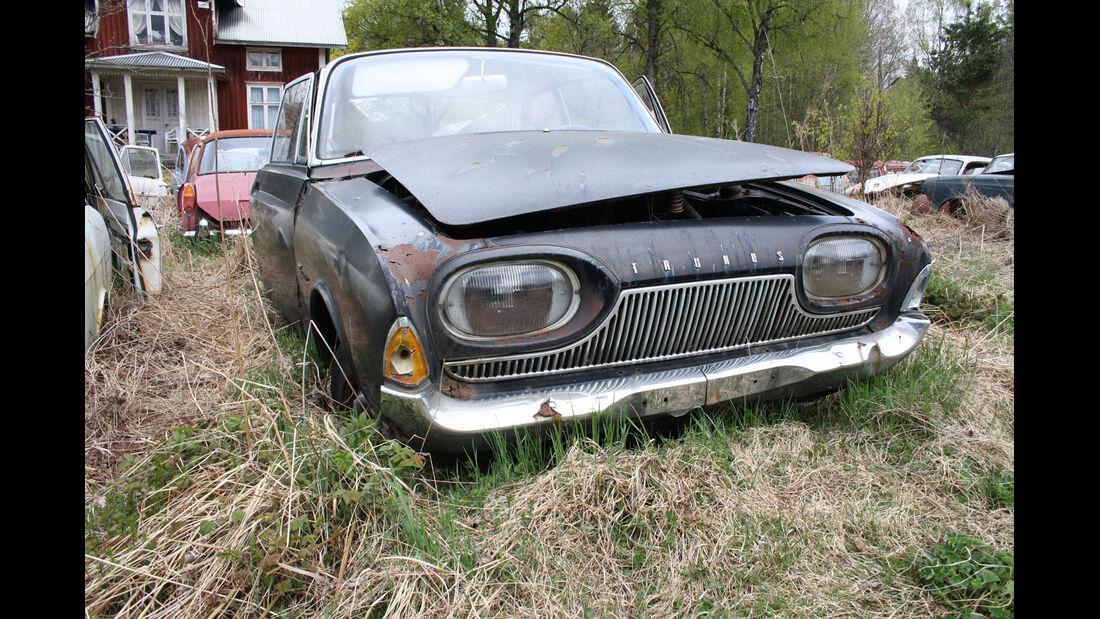 Autofriedhof Bästnäs, Ford Badewanne