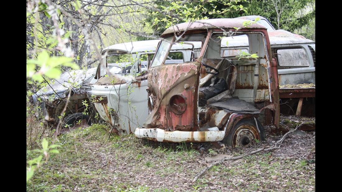 Autofriedhof Bästnäs, VW Bus