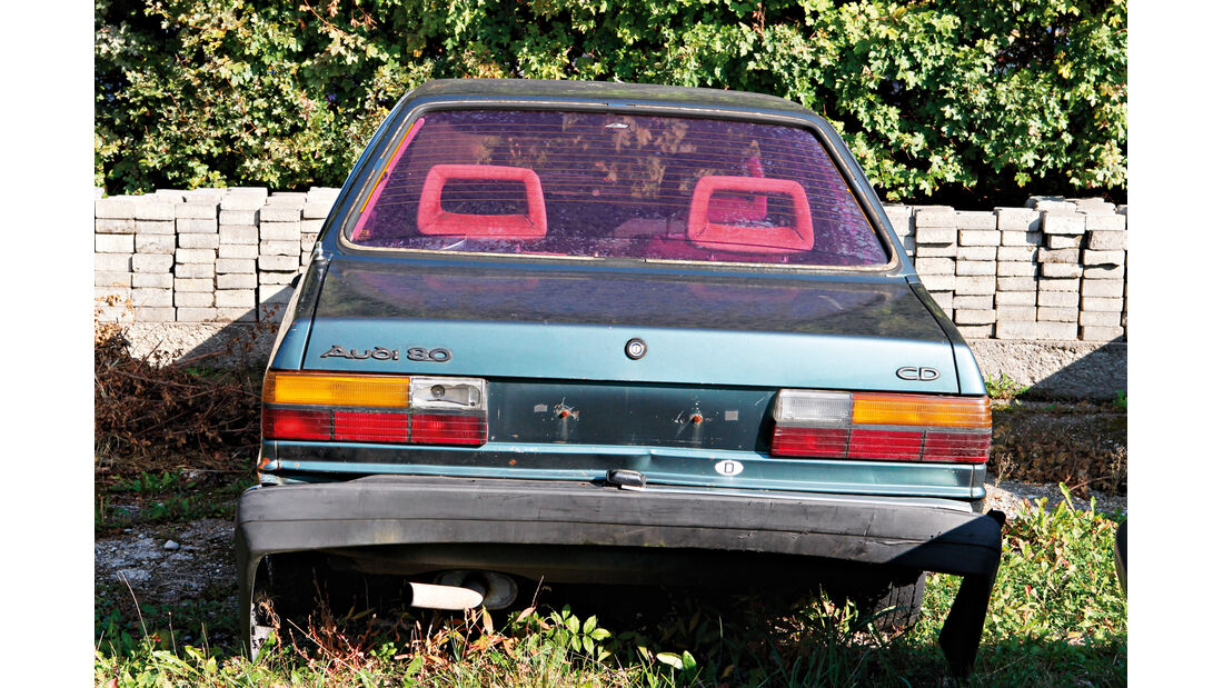 Autofriedhof Rust, Audi 80 CD S5