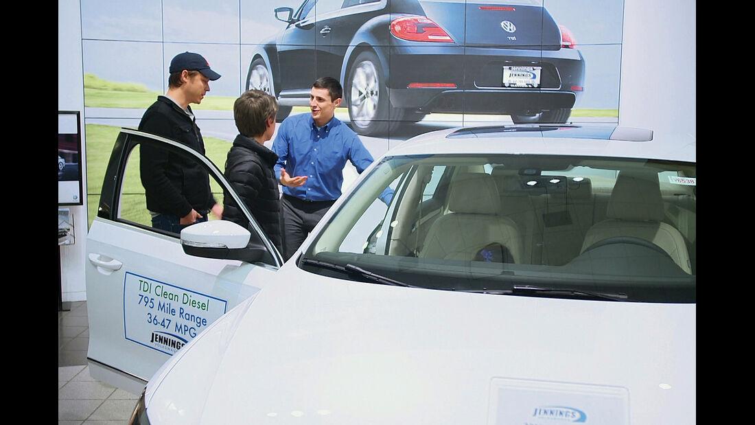 Autokauf international, USA
