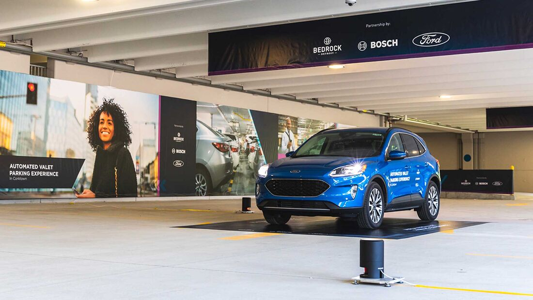 Automated Valet Parking Ford Bosch