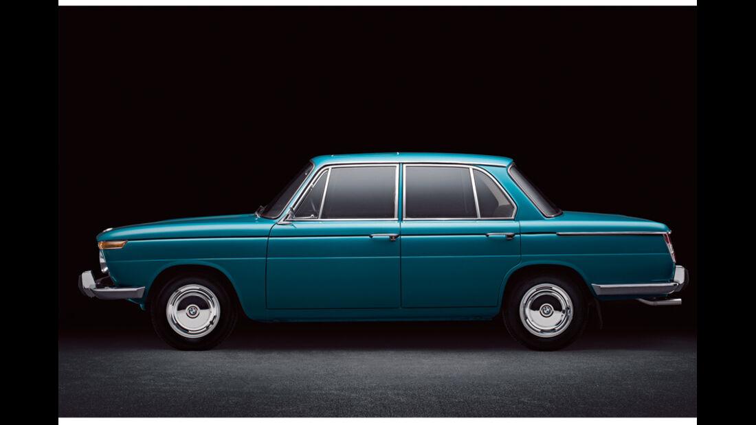 Automobil-Design, BMW 1500, Seitenansicht
