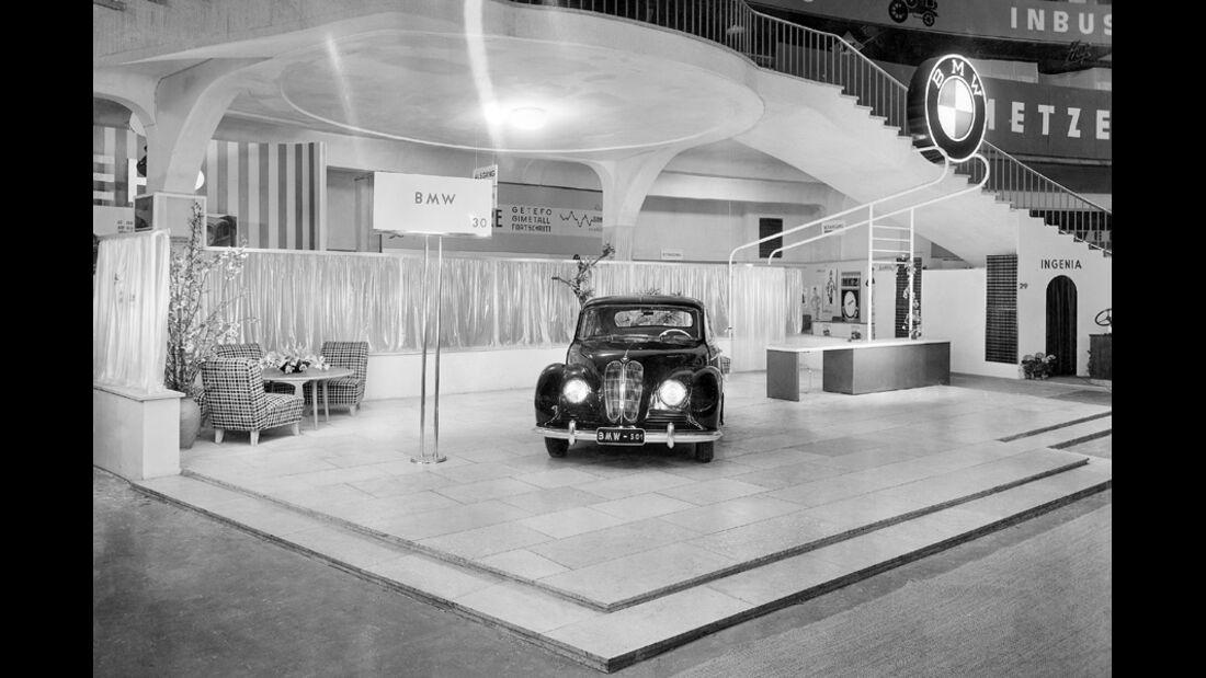 Automobil-Design, BMW Typ 501, Frontansicht