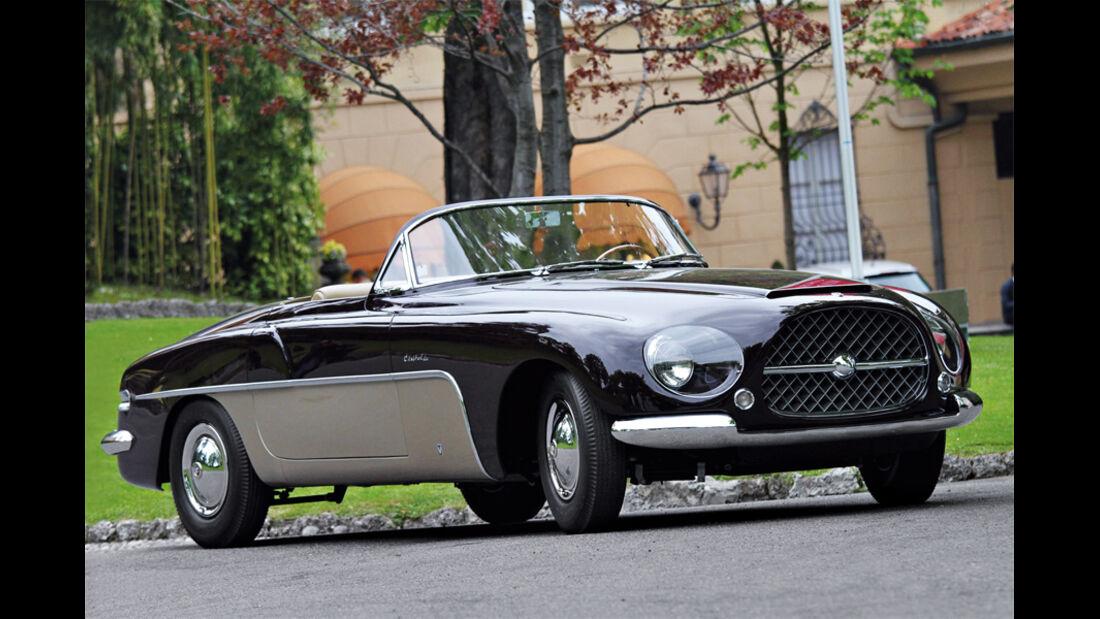 Automobil-Design, Cisitalia-Ford, Seitenansicht