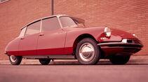 Automobil-Design, Citroen DS, Seitenansicht