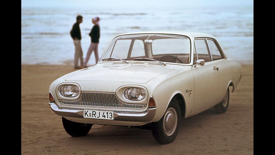 Automobil-Design, Ford 17M P3, Frontansicht