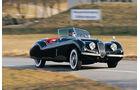 Automobil-Design, Jaguar XK 120, Kurvenfahrt