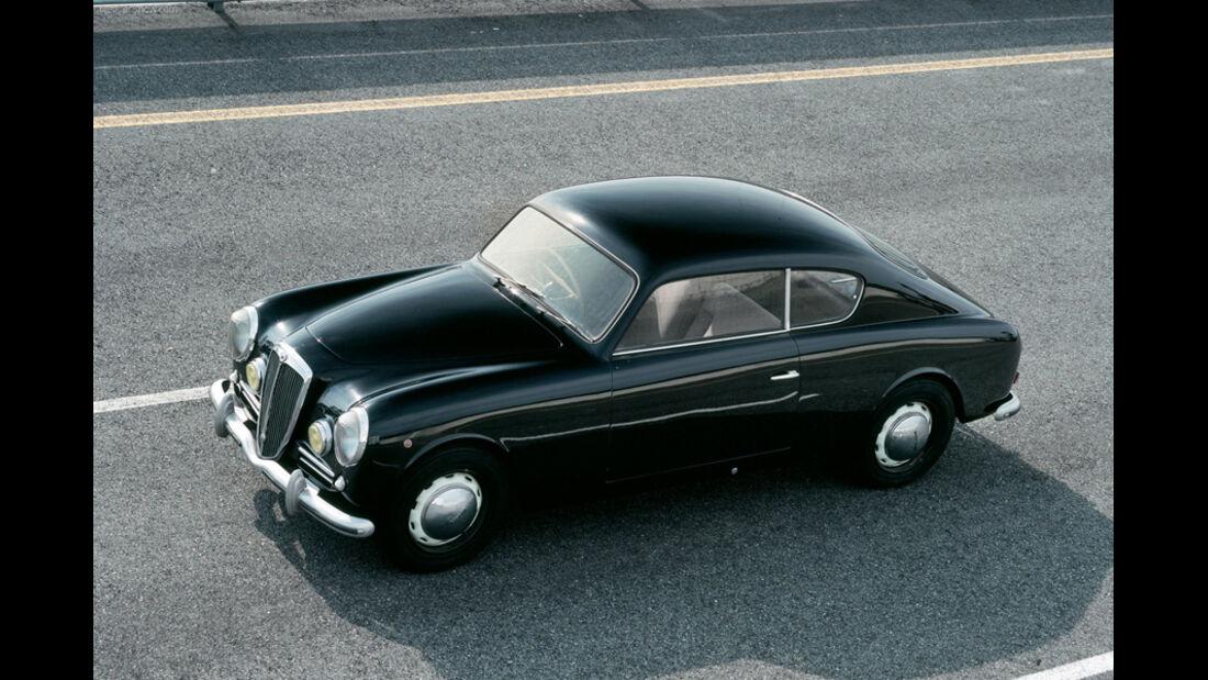 Automobil-Design, Lancia Aurelia B20, Seitenansicht